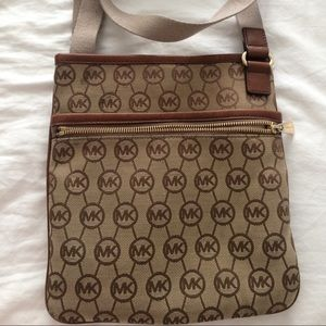 Michael Kors Brown Crossbody Bag Swingpack